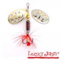 Блесна вращающаяся Lucky John BONNIE BLADE 00 02.7г 002 в блистере