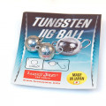 Груз-головки LJ Pro Series TUNGSTEN JIG BALL вольф. разбор. 005г 2шт.