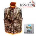 Жилет флис. Norfin Hunting REVERSABLE VEST PASSION/ORANGE 06 р.XXXL