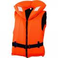 Жилет спасательный с воротником на молнии Norfin 100N 60-70кг/оранж.
