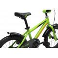 Детский велосипед Cronus Big Chief 16 зеленый (2017)
