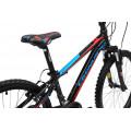 Подростковый велосипед Cronus Best Mate 24 Boy Черный/Красный/Голубой (2017)