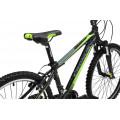 Подростковый велосипед Cronus Carter 24 Черный/Зеленый/Серый (2017)