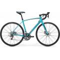 Шоссейный велосипед Merida Ride Disc 100-Juliet Silk Petrol Blue (black) (2017)