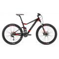Велосипед двухподве Giant Stance 2 Black/Red (2017)