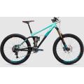 Велосипед двухподвес Cube Fritzz 180 Hpa Sl 27.5  Black?n?mint (2017)