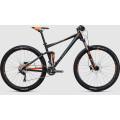 Велосипед двухподвес Cube Stereo 120 Hpa Pro  Black?n?flashorange (2017)