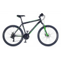 Велосипед MTB Author Outset disc Black/Green (2016)