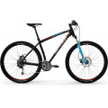 Велосипед MTB Centurion Backfire PRO 100.29 Matt Black (Light Blue/Red) (2017)