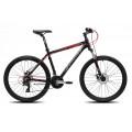 Велосипед MTB Cronus Coupe 1.0 26 Черный/Красный/Серый (2017)