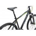 Велосипед MTB Cronus Holts 4.0 27.5 Черный/Серый/Желтый (2017)