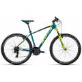 Велосипед MTB Cube Aim 27.5 Bermudablue?n?Kiwi (2016)