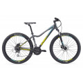 Велосипед MTB Liv Tempt 4 Charcoal/Yellow/Green (2017)