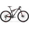 Велосипед MTB Merida Ninety-Six 9.800 Matt Black (red/white) (2017)