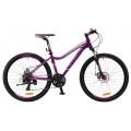 Велосипед MTB Stels Miss 6100 MD фиолетовый (2017)