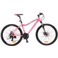 Велосипед MTB Stels Miss 6100 MD светло-красный (2017)