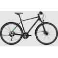 Велосипед универсальный Cube Cross Allroad Black?n?flashgreen (2017)
