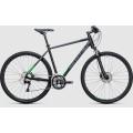 Велосипед универсальный Cube Cross Black?n?flashgreen (2017)