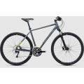 Велосипед универсальный Cube Cross Pro Grey?n?lime (2017)